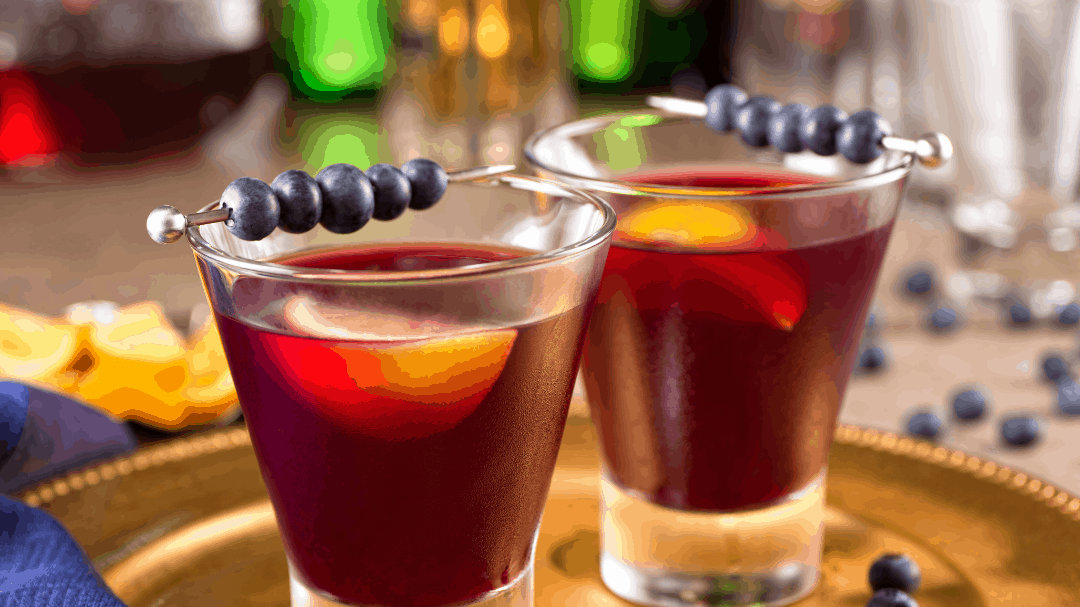 Blueberry Cocktail Event